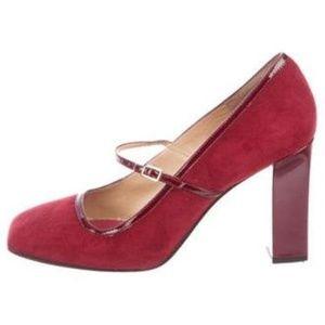 Kate Spade Trilby Ruby Mary Jane Pumps Size 7.5B